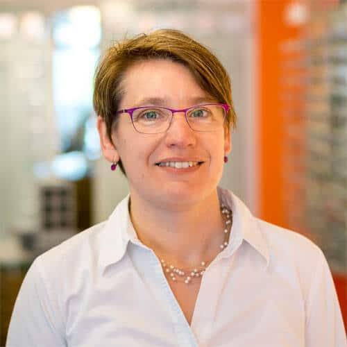 Augenoptikerin Katja Zentel, Brillen Krug Oppenheim