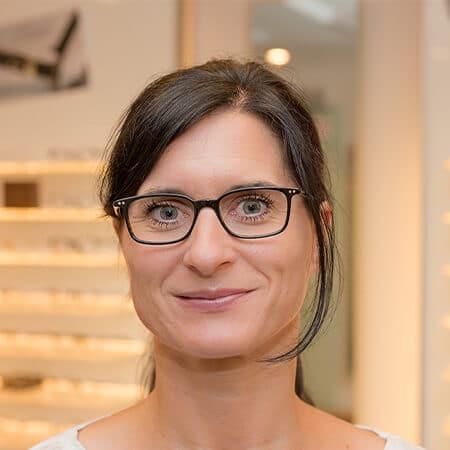 Nicole Stahl, Verwaltung bei Brillen Krug Oppenheim