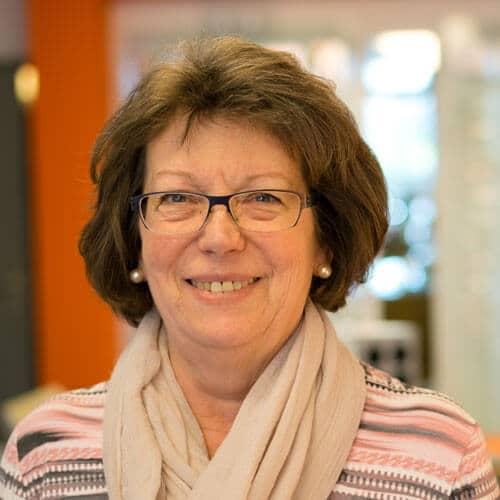 Ursula Nagel, Verwaltung bei Brillen Krug Oppenheim