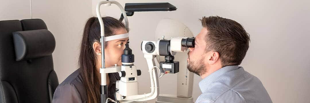 Niemand kennt ihr Auge besser als wir – Screening in der Optik