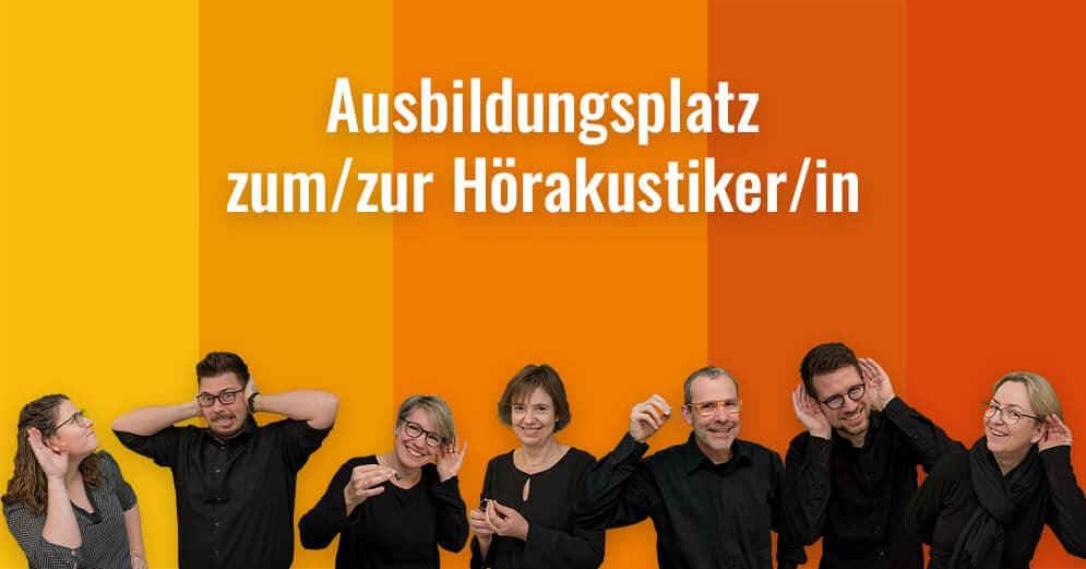 Ausbildungsplatz zum/zur Hörakustiker/in