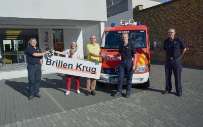Ein Fernglas für die Freiwillige Feuerwehr der Stadt Oppenheim